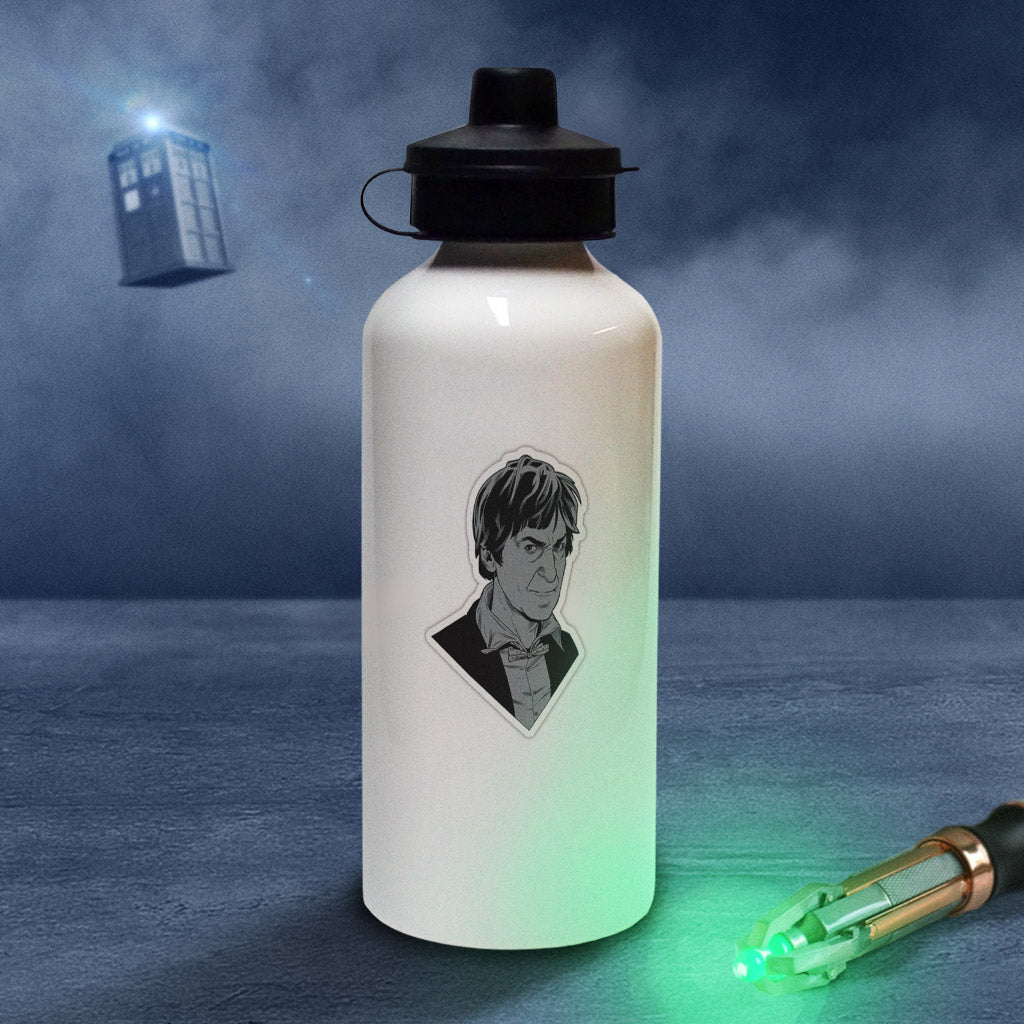 Second Doctor Comic Water Bottle (Lifestyle)