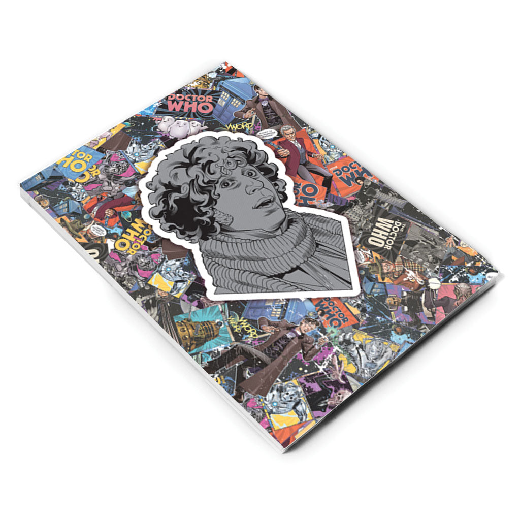 Fourth Doctor Comic A5 Notepad