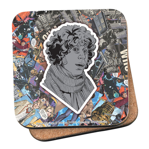 Fourth Doctor Comic Coaster
