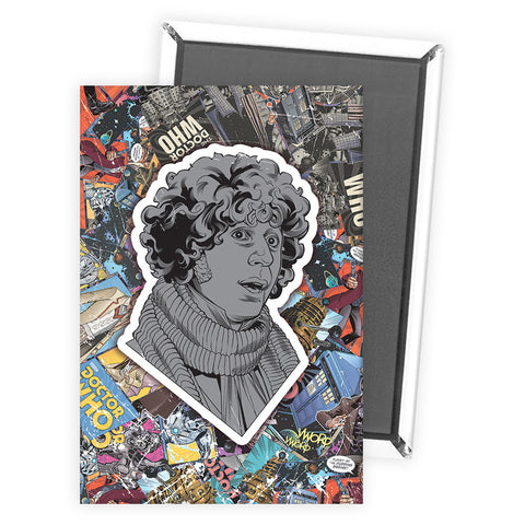 Fourth Doctor Comic Magnet