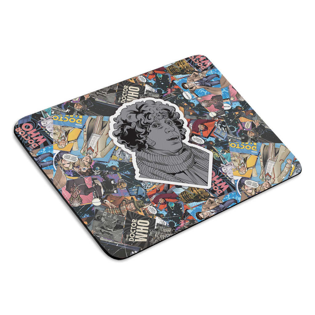Fourth Doctor Comic Mousemat