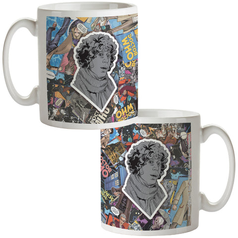 Fourth Doctor Comic Mug