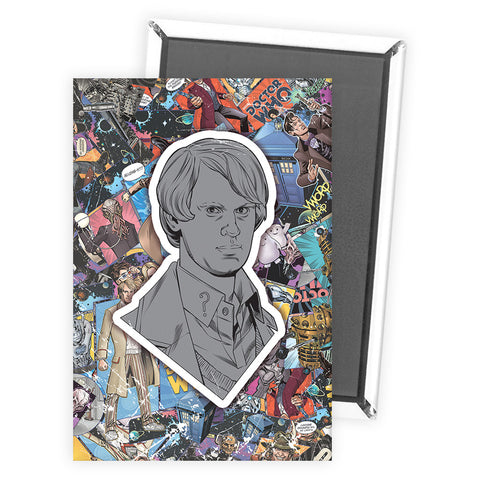 Fifth Doctor Comic Magnet