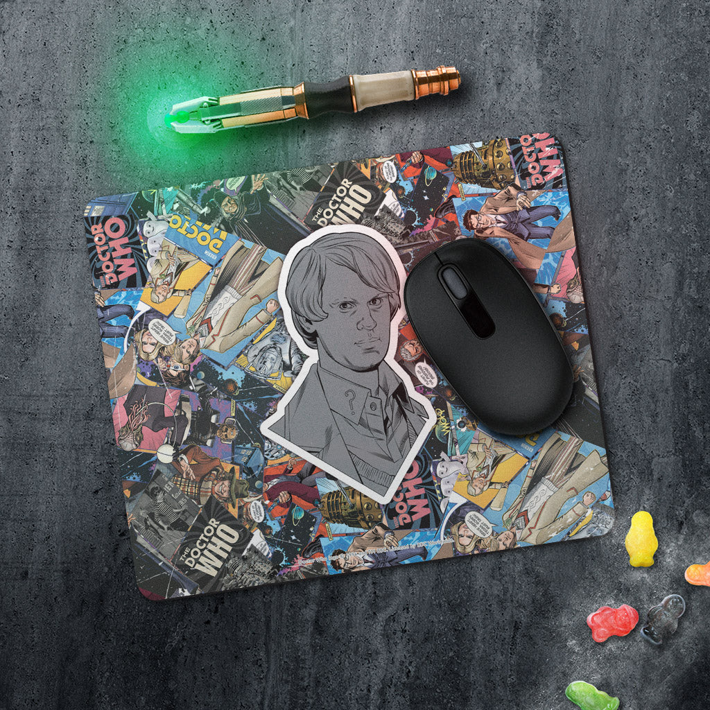 Fifth Doctor Comic Mousemat (Lifestyle)