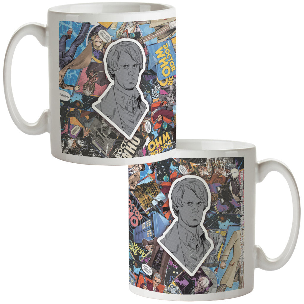 Fifth Doctor Comic Mug