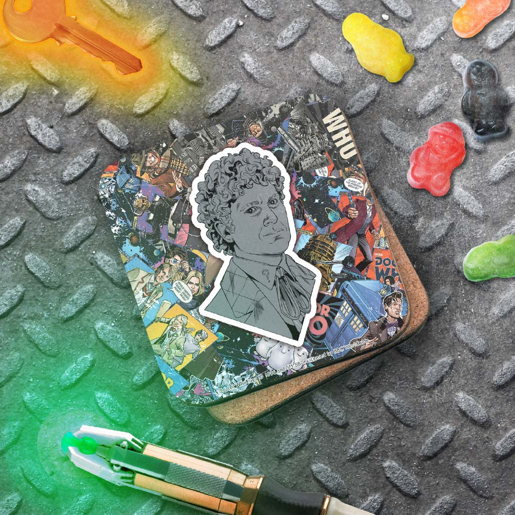 Sixth Doctor Comic Coaster (Lifestyle)