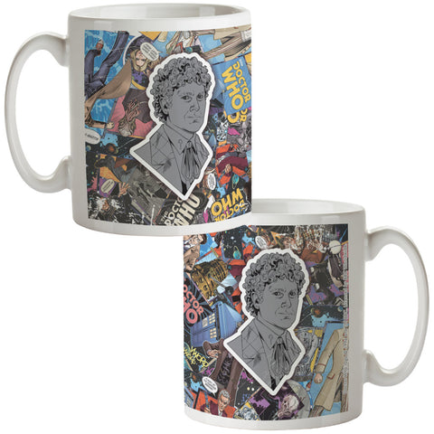Sixth Doctor Comic Mug