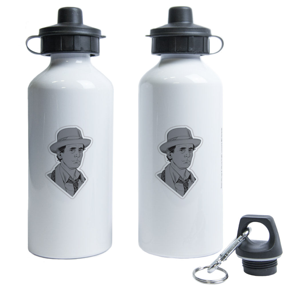 Seventh Doctor Comic Water Bottle