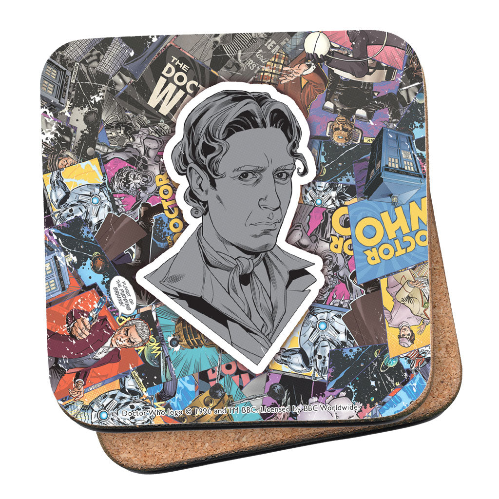 Eighth Doctor Comic Coaster