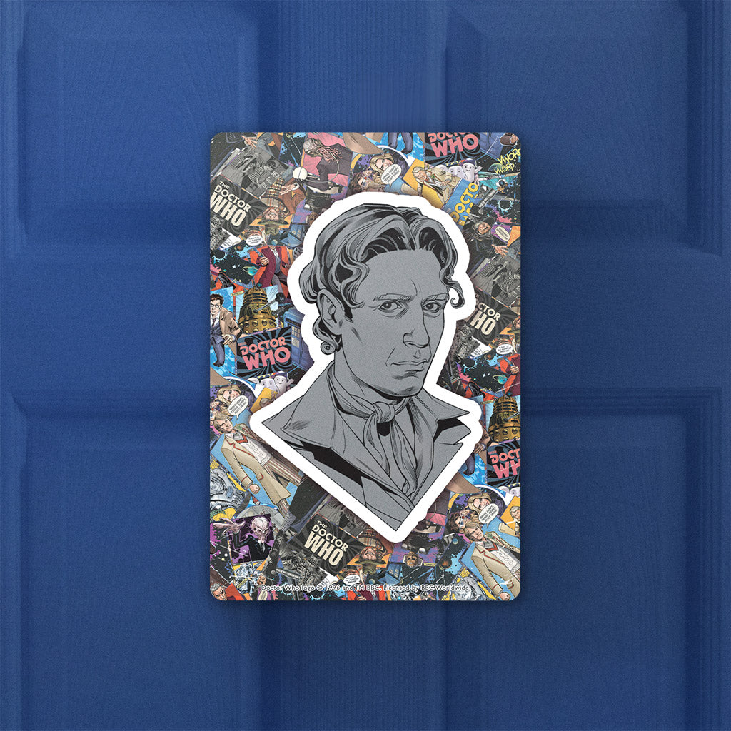 Eighth Doctor Comic Door Plaque (Lifestyle)
