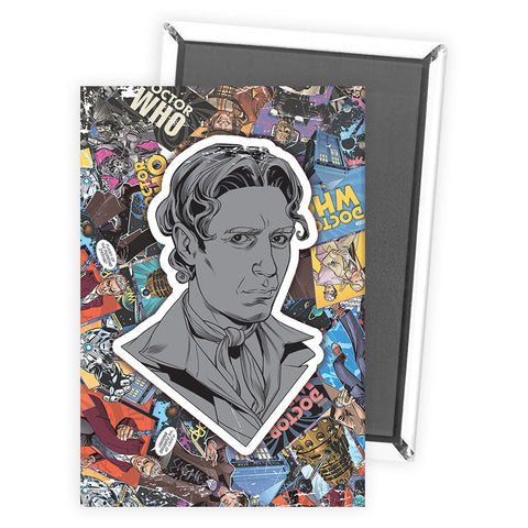 Eighth Doctor Comic Magnet