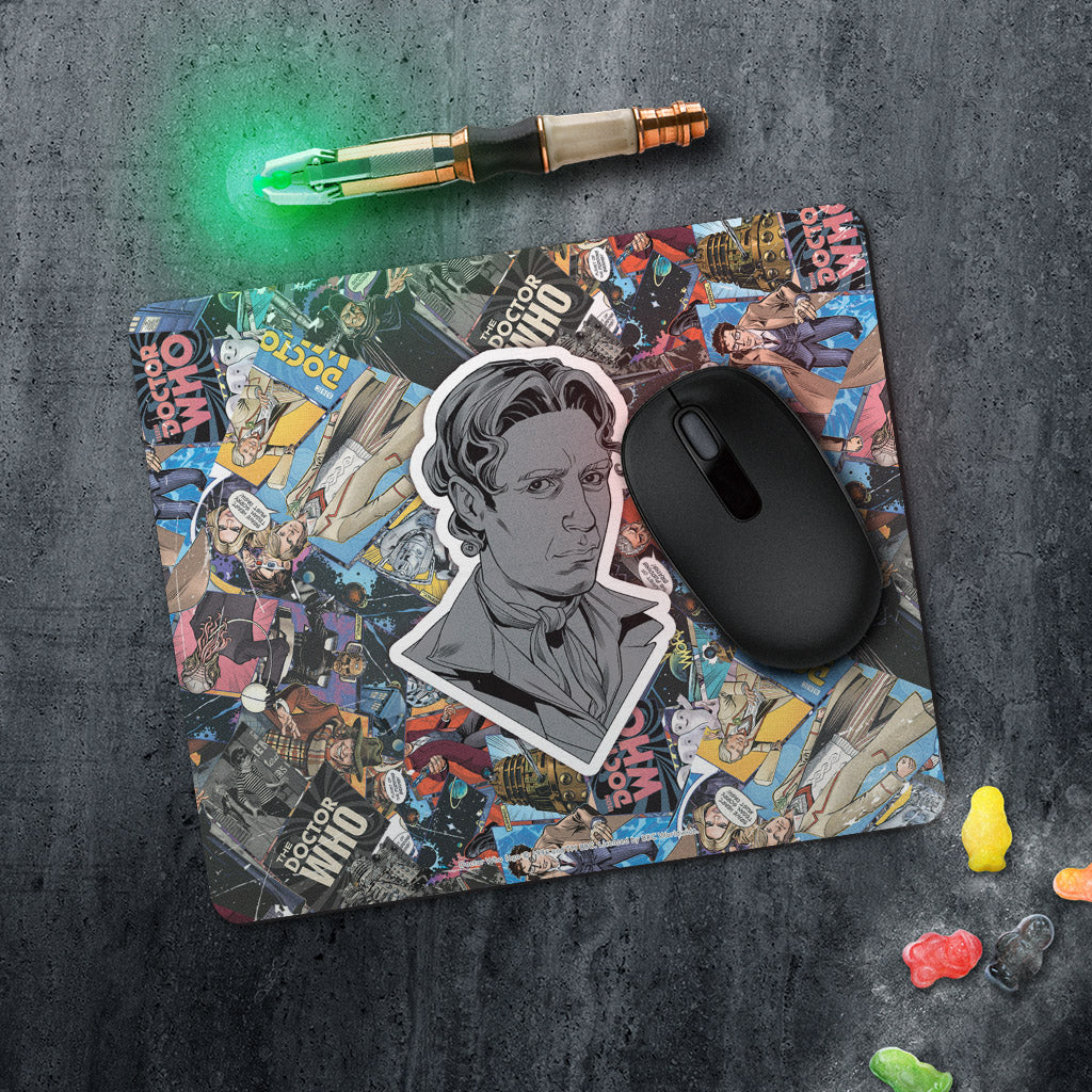 Eighth Doctor Comic Mousemat (Lifestyle)