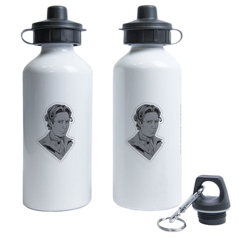 Eighth Doctor Comic Water Bottle
