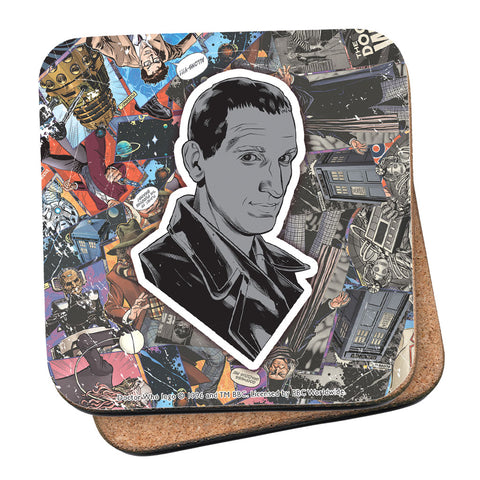 Ninth Doctor Comic Coaster