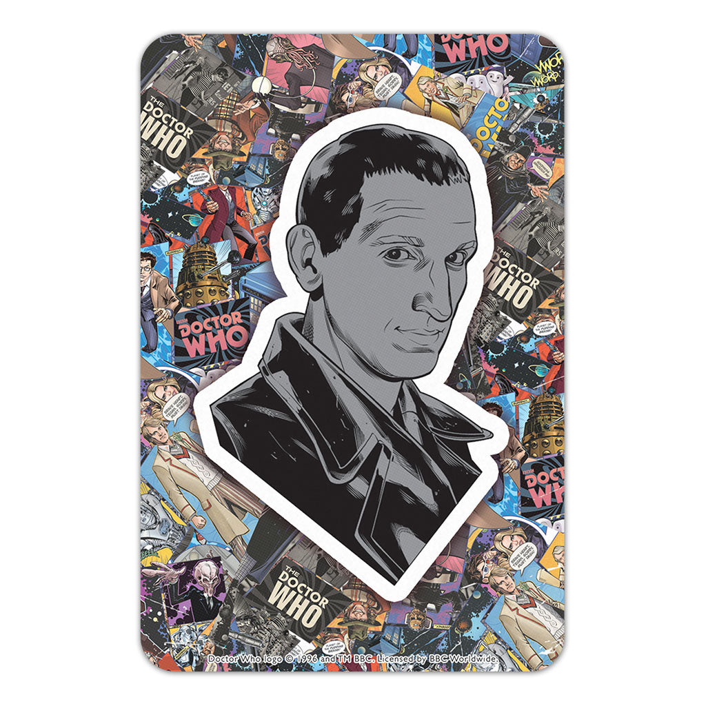 Ninth Doctor Comic Door Plaque