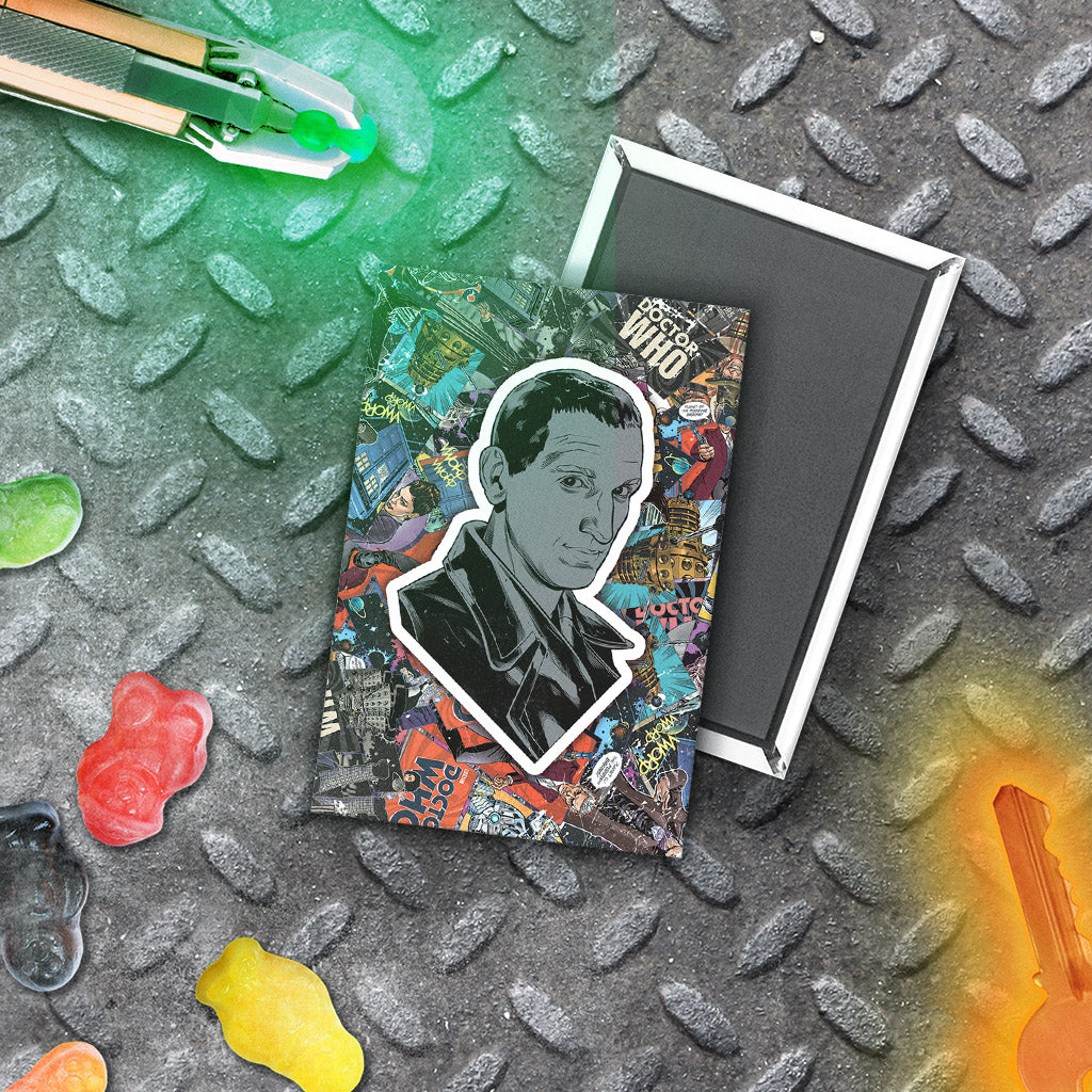 Ninth Doctor Comic Magnet (Lifestyle)