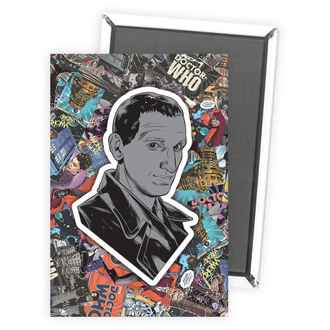 Ninth Doctor Comic Magnet