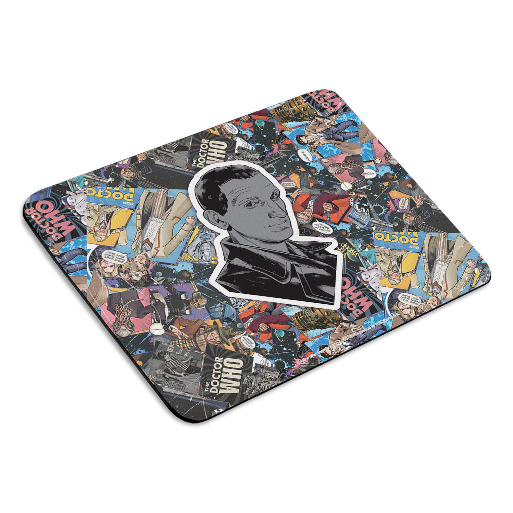 Ninth Doctor Comic Mousemat