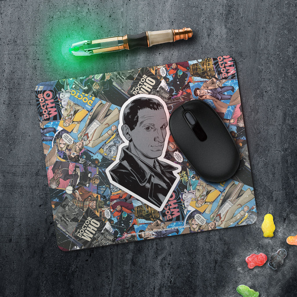 Ninth Doctor Comic Mousemat (Lifestyle)