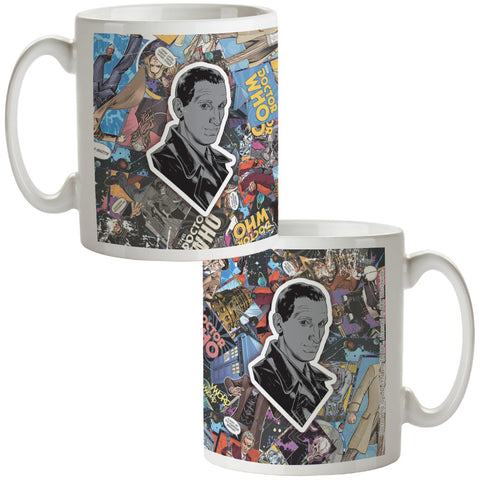 Ninth Doctor Comic Mug