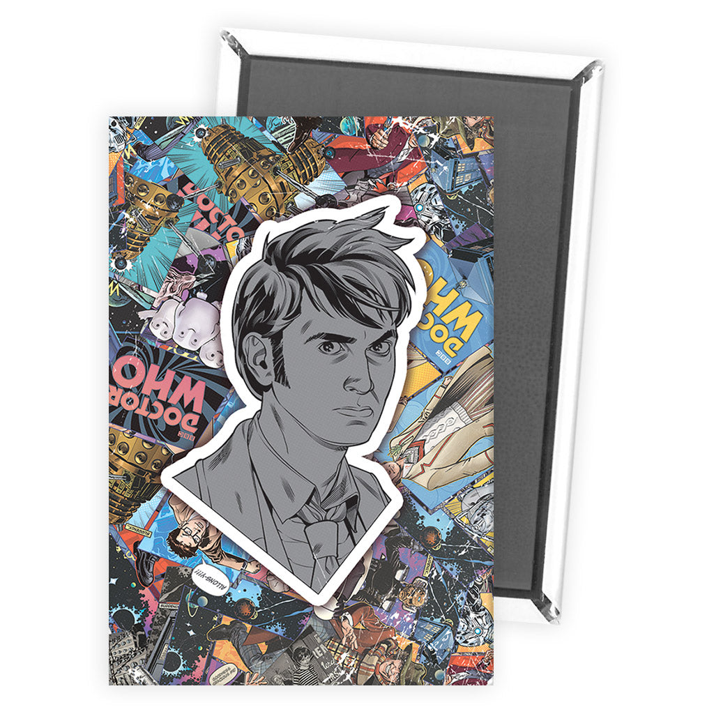 Tenth Doctor Comic Magnet