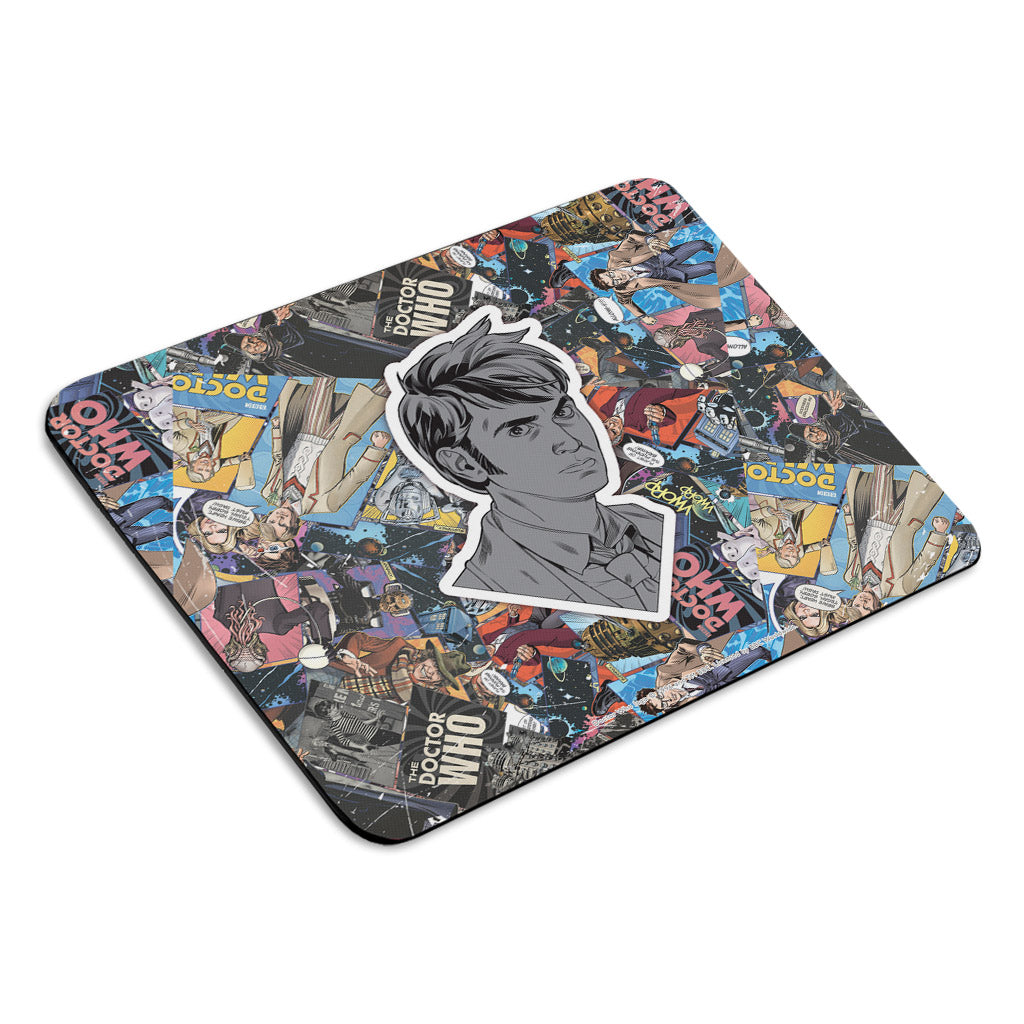 Tenth Doctor Comic Mousemat