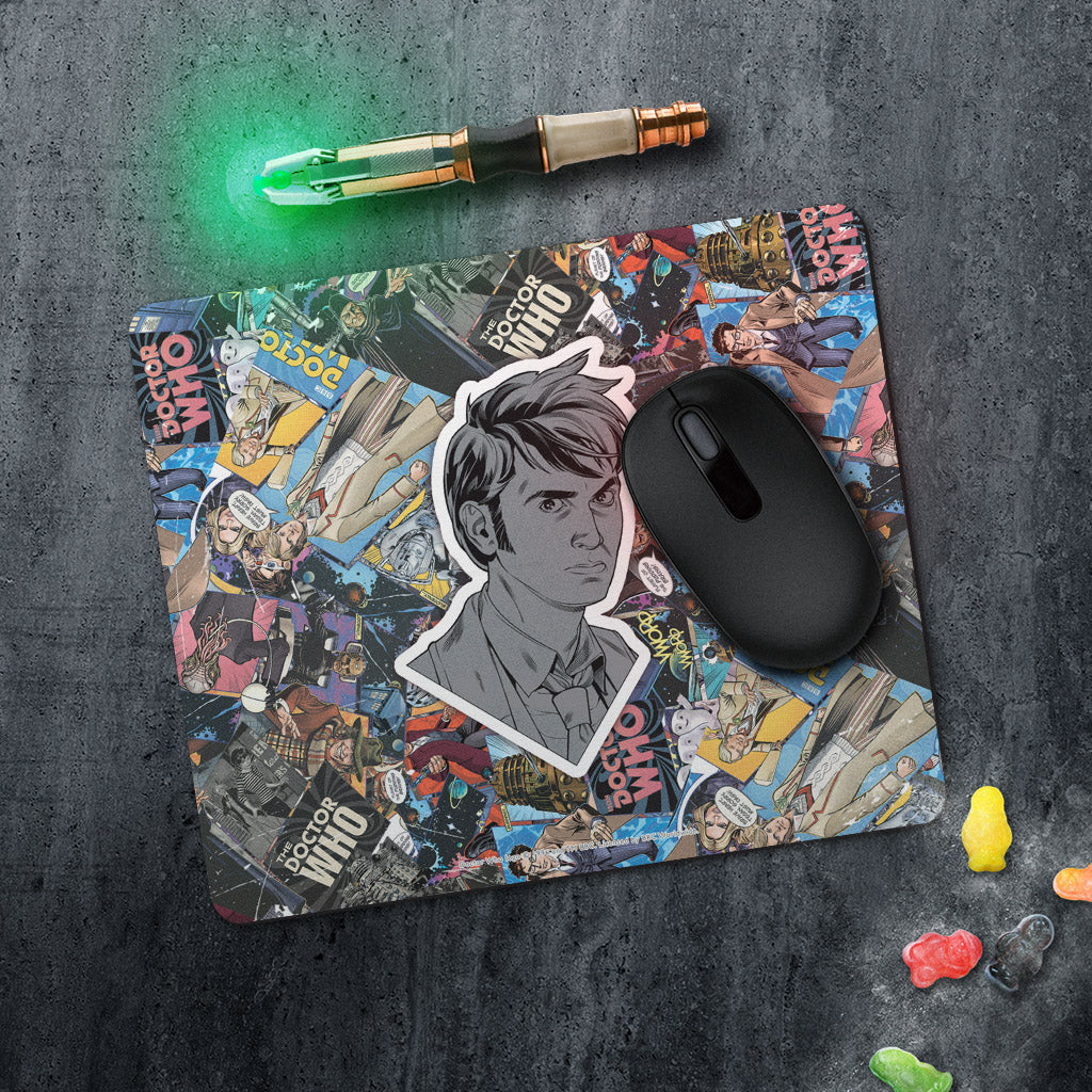 Tenth Doctor Comic Mousemat (Lifestyle)