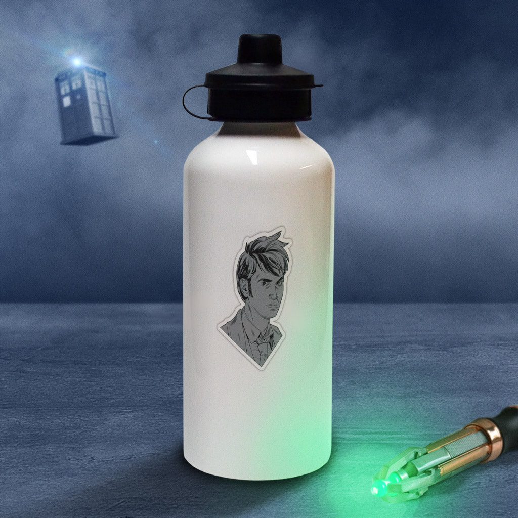 Tenth Doctor Comic Water Bottle (Lifestyle)