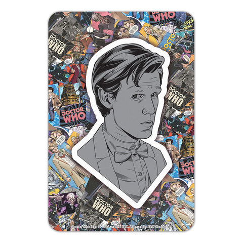 Eleventh Doctor Comic Door Plaque