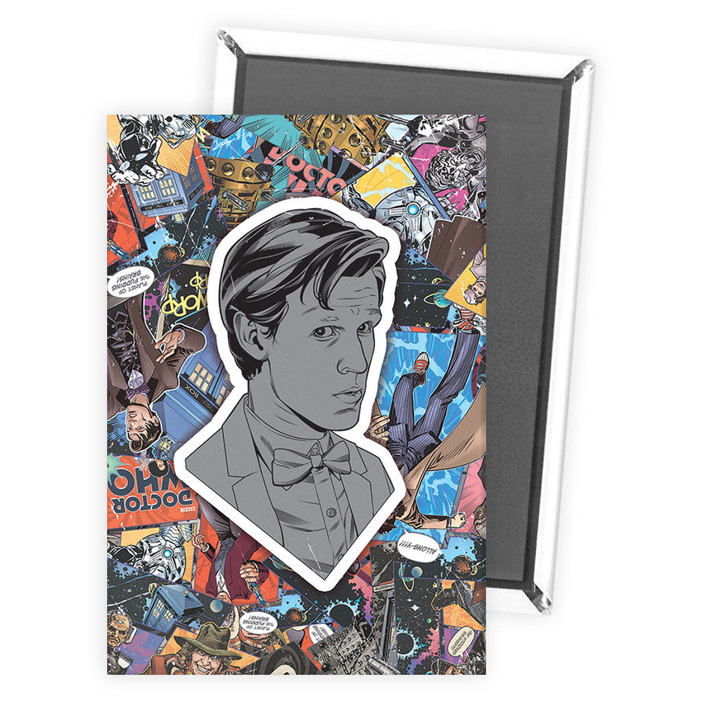 Eleventh Doctor Comic Magnet