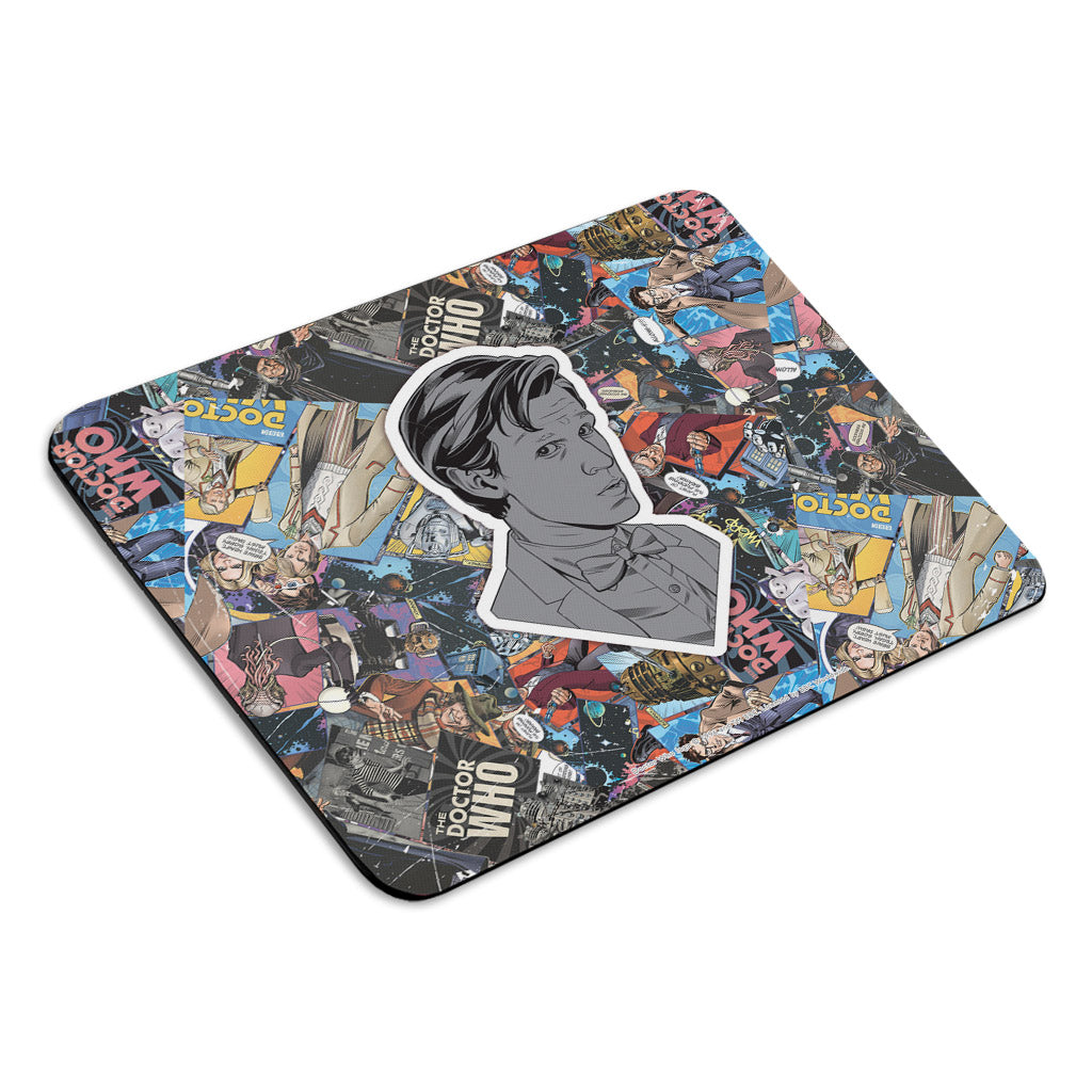 Eleventh Doctor Comic Mousemat