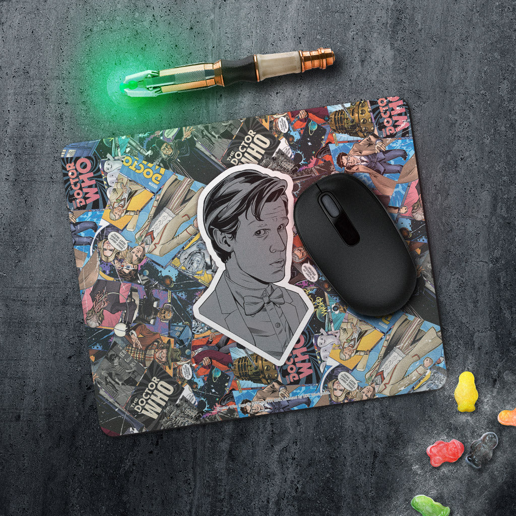 Eleventh Doctor Comic Mousemat (Lifestyle)