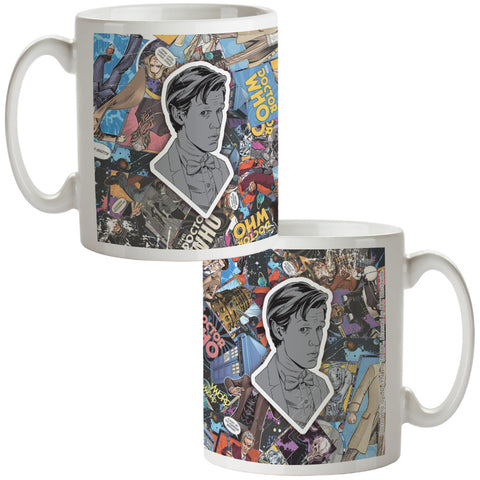 Eleventh Doctor Comic Mug