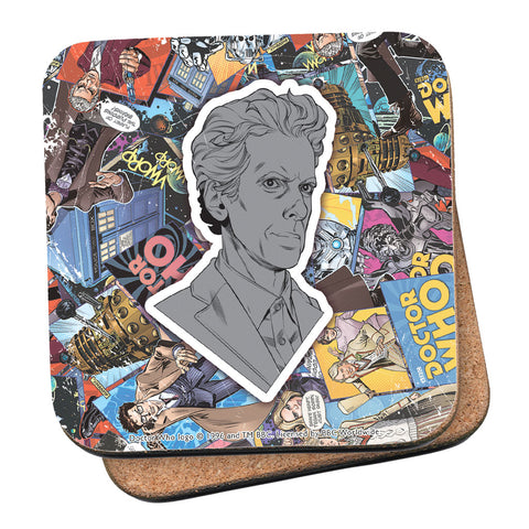 Twelfth Doctor Comic Coaster