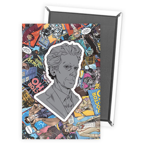 Twelfth Doctor Comic Magnet