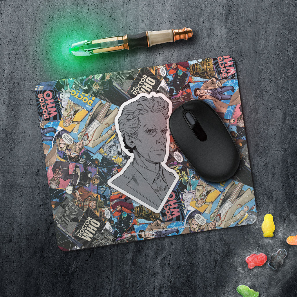Twelfth Doctor Comic Mousemat (Lifestyle)