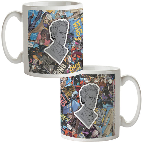 Twelfth Doctor Comic Mug