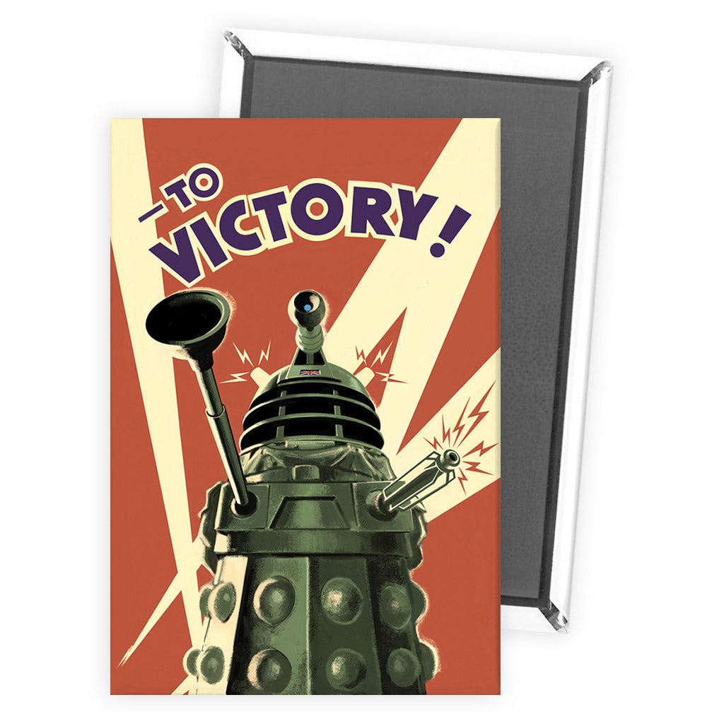 Dalek 'TO VICTORY!' Magnet