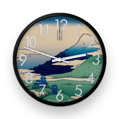 Doctor Who - Hokusai Clock