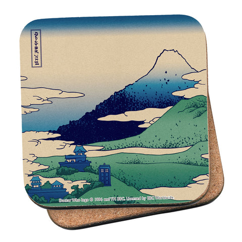 Doctor Who - Hokusai Coaster