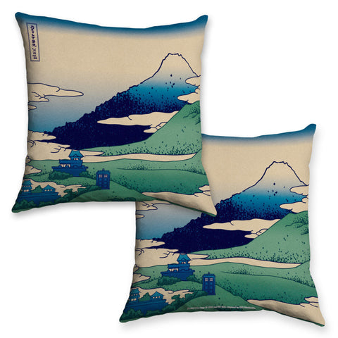 Doctor Who - Hokusai Cushion