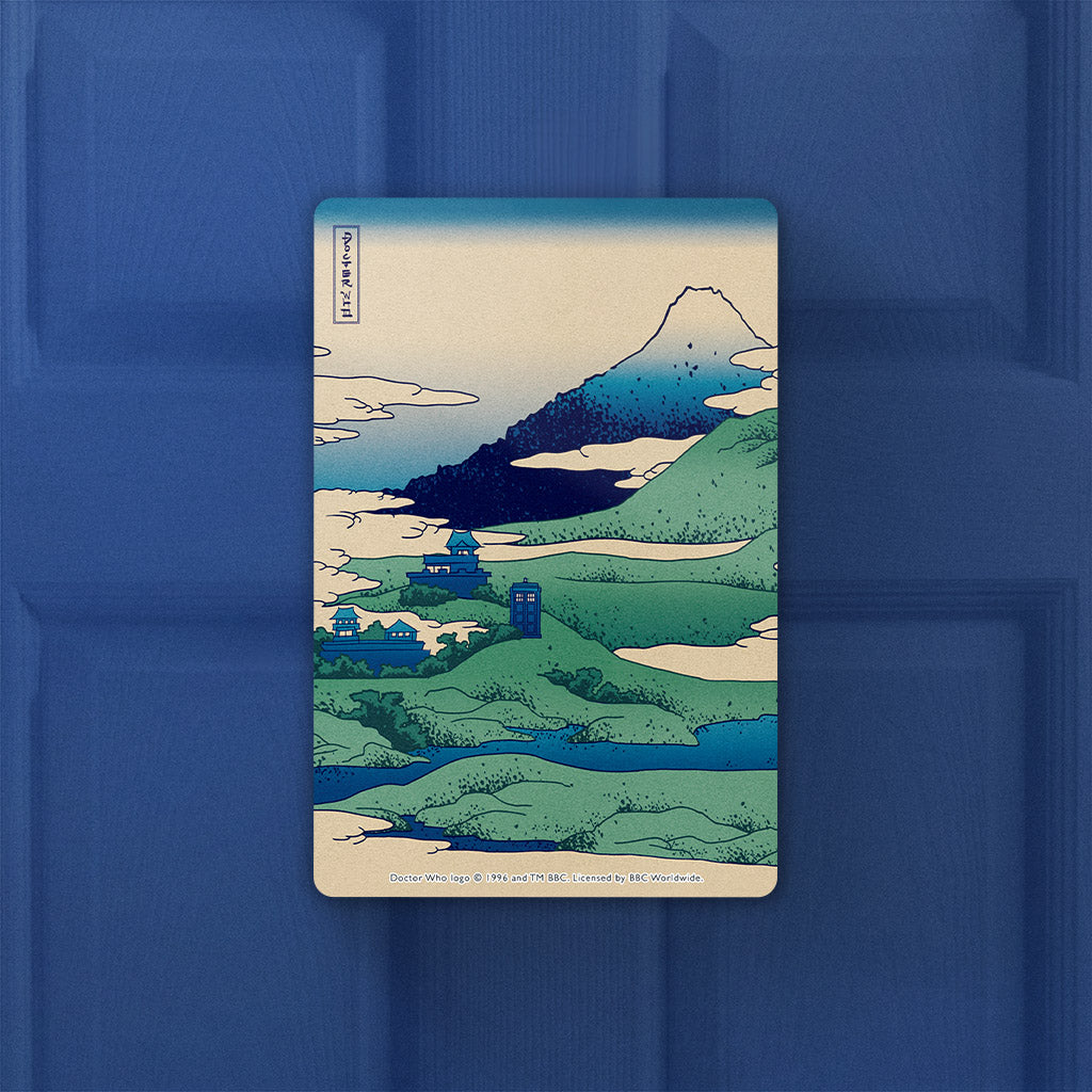 Doctor Who - Hokusai Door Plaque (Lifestyle)