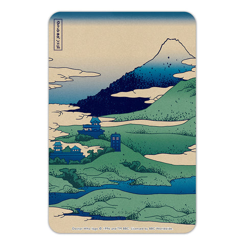 Doctor Who - Hokusai Door Plaque