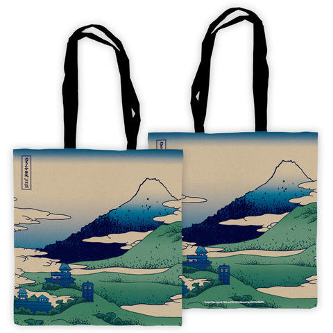 Doctor Who - Hokusai Edge to Edge Tote