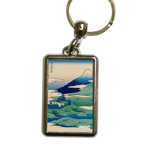 Doctor Who - Hokusai Metal Keyring