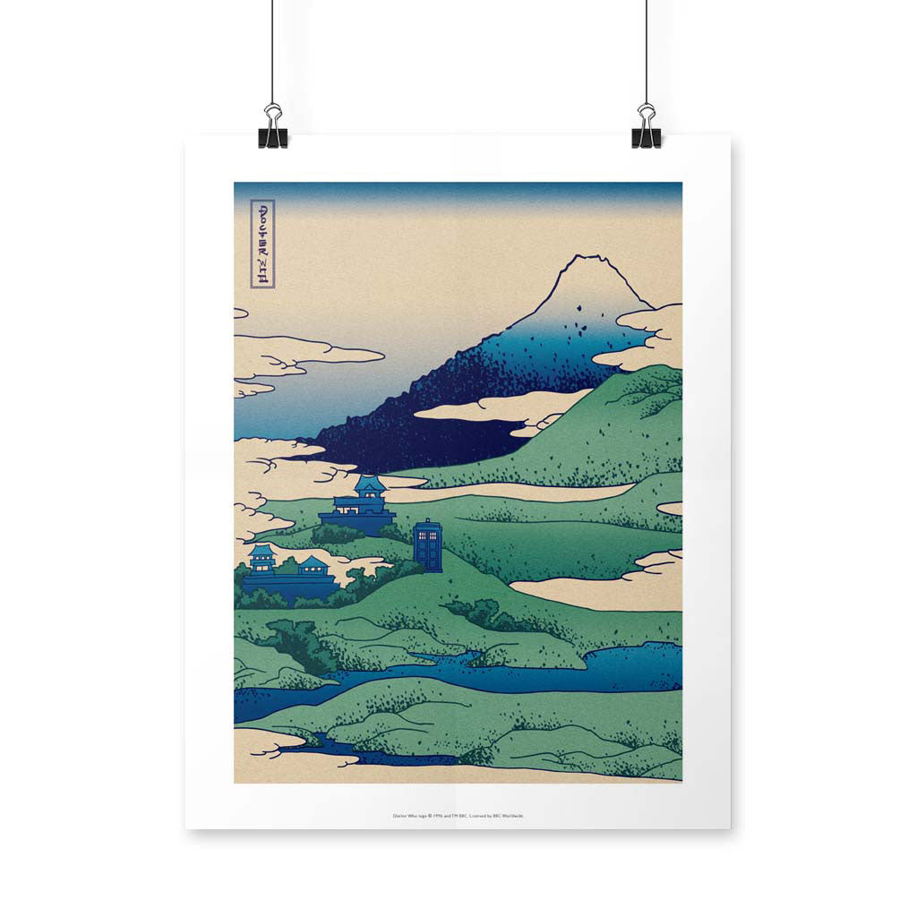 Doctor Who - Hokusai Art Print