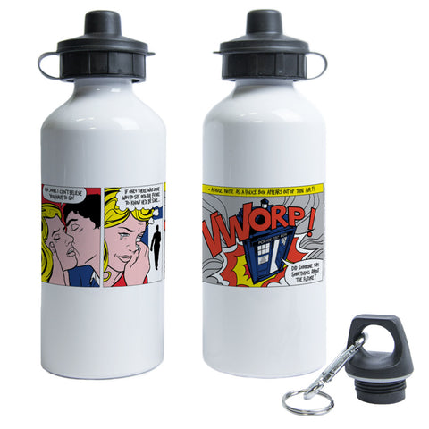 Tardis - Lichtenstein Water Bottle