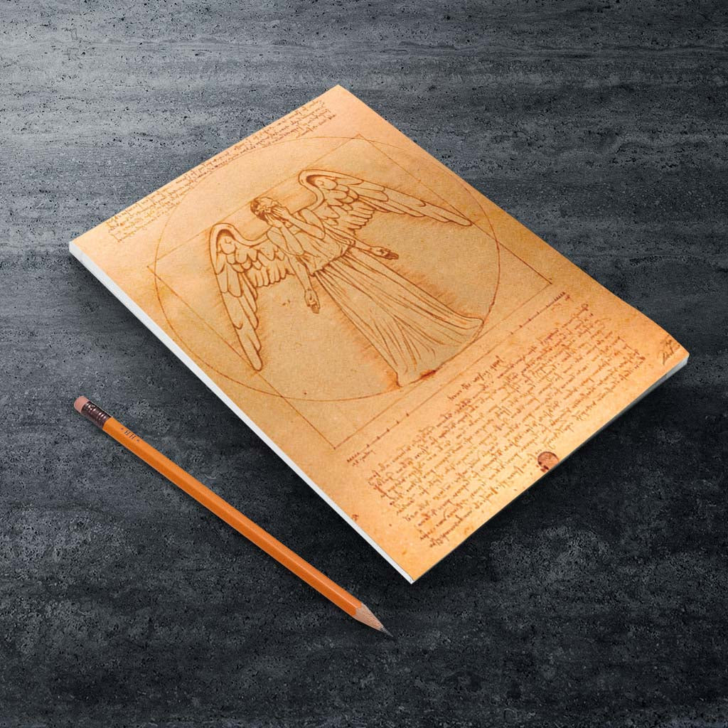 Weeping Angel - Da Vinci A5 Notepad (Lifestyle)
