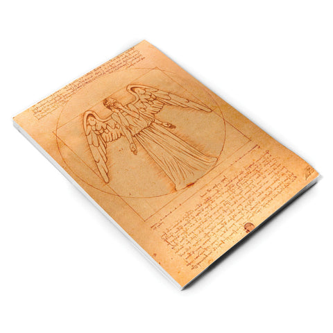Weeping Angel - Da Vinci A5 Notepad