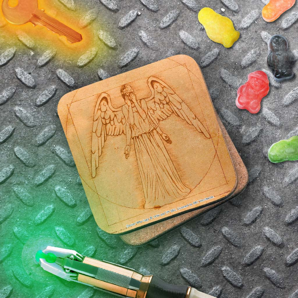 Weeping Angel - Da Vinci Coaster (Lifestyle)